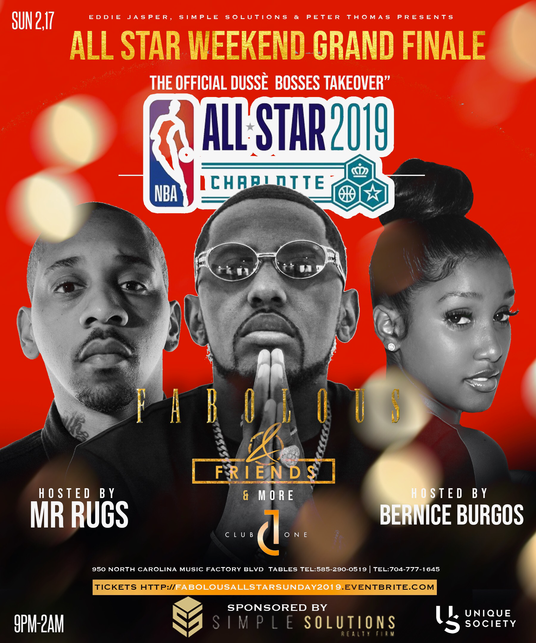 NBA ALL-STAR WEEKEND 2019