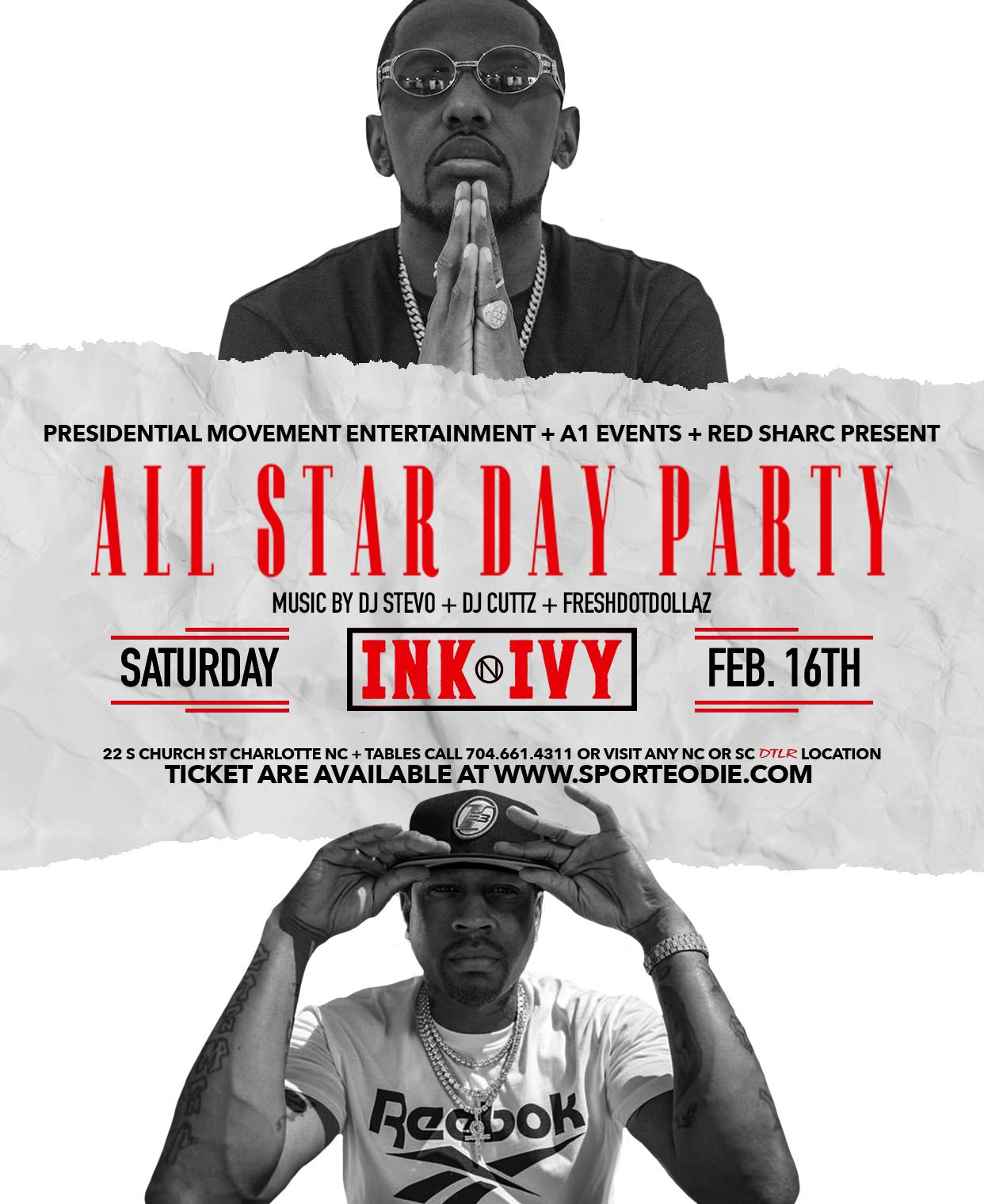 NBA ALL-STAR DAY PARTY